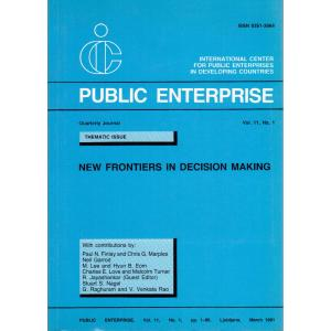 Public Enterprise Quarterly Journal Vol 11. No. 1