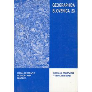 Geographica Slovenica 23