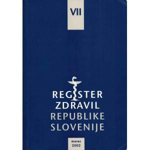 Register zdravil R Slovenije VII